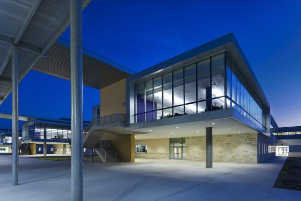Natural Classroom Design ~ Cedar ridge high school kah architecture and interior