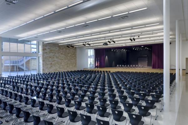 Ridge Architecture High and School KAH Cedar – Interior