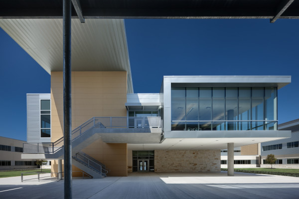 Interior Stone Veneer >> Cedar Ridge High School – KAH Architecture and Interior ...